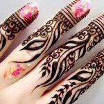 Henna Design for Fingers
