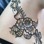 Mehndi Design for Neck