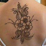 Mehndi Design for Back