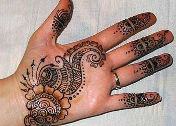 Simple Mehndi designs for palm – Mehandi designs