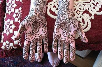 Mehandi Designs for Bride