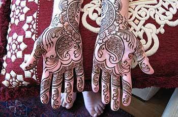 Mehandi Designs for Bride
