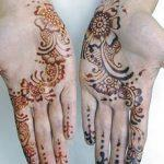 mehndi design for palm palms