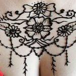 Mehndi Designs for chest