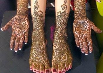 Mehndi Designs for Bride